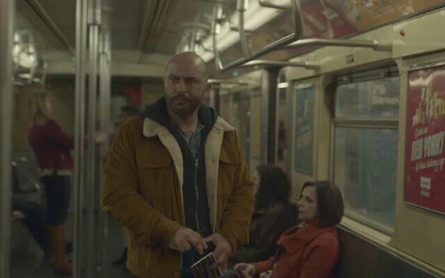 "Lior Raz as Segev Azulai in ""Hit & Run."" (Photo provided by Netflix via J. The Jewish News of Northern California)"