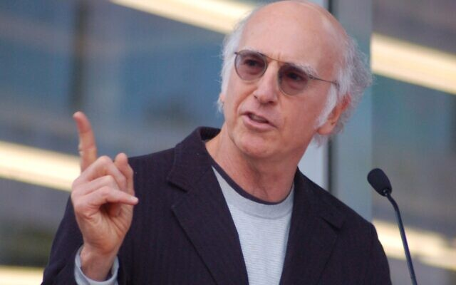 Larry David (Photo by Angela George at flickr.com/photos/sharongraphics/)