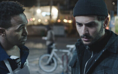 """Dawit Tekelaeb (left) and Daniel Gad in the Oscar-nominated film """"White Eye,"""" which will be screened at the 10th annual Robinson International Short Film Competition, Aug. 24.  Still provided by Film Pittsburgh"""