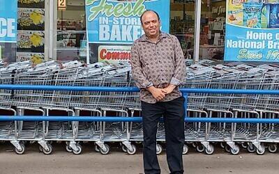 """Howard """"Howie"""" Rosenberg. Photo courtesy of Community Supermarket"""