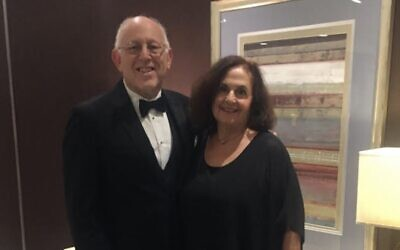 Harold and Maureen Marcus (Photo courtesy of Harold Marcus)