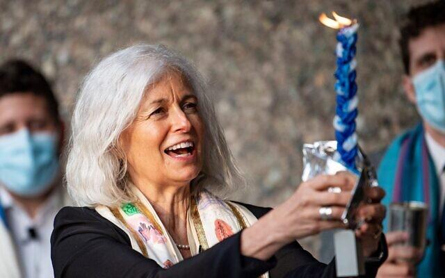 Rabbi Elaine Zecher. Photo courtesy of Temple Israel of Boston
