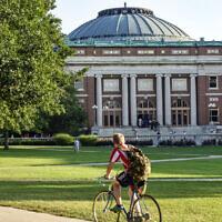 Urbana-Champaign, University of Illinois campus (Photo via JTA)