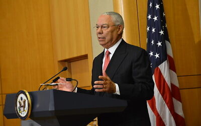 Former Secretary of State Powell Delivers Remarks at Groundbreaking Ceremony of U.S. Diplomacy Center. Department of State.