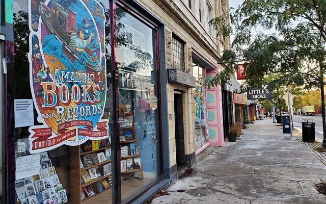 Amazing Books & Records. Photo by Adam Reinherz