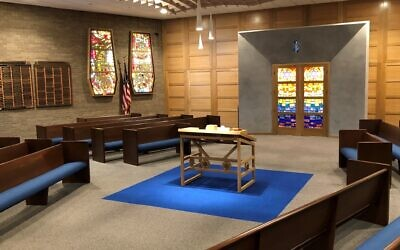 Sufrin Family Chapel at Beth El Congregation of the South Hills. Photo courtesy of Beth El Congregation of the South Hills