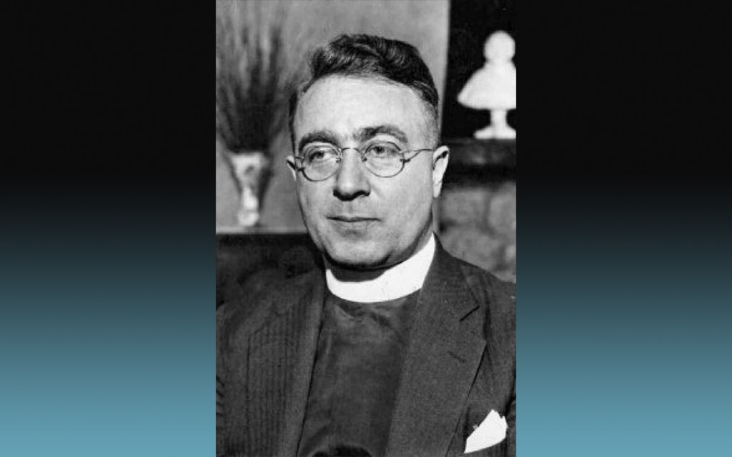 A Photo of Charles Coughlin by Hamilton Spectator,circa 1938. This file is licensed under the Creative Commons Attribution-Share Alike 4.0 International license