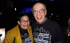 Audrey Glickman and Joe Charny. Photo by Adam Reinherz