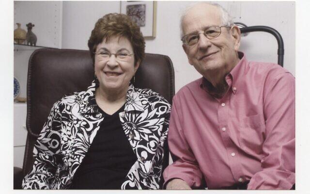 Sarah and Stan Angrist. Photo courtesy of Stan Angrist