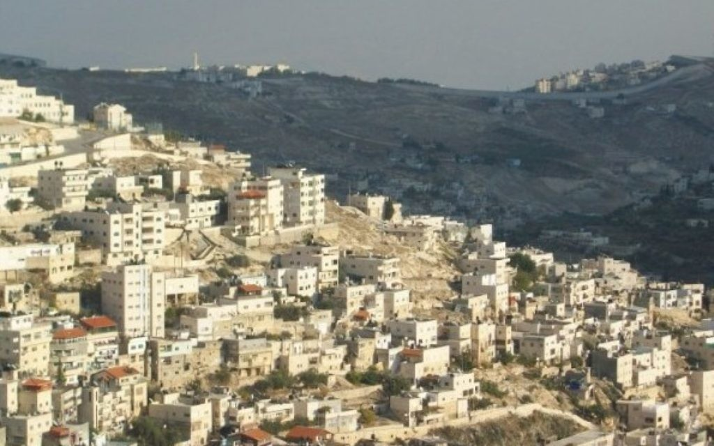 East Jerusalem is considered by International law to be part of the pre 1967 boundary