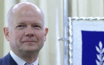 Former Foreign Secretary William Hague
