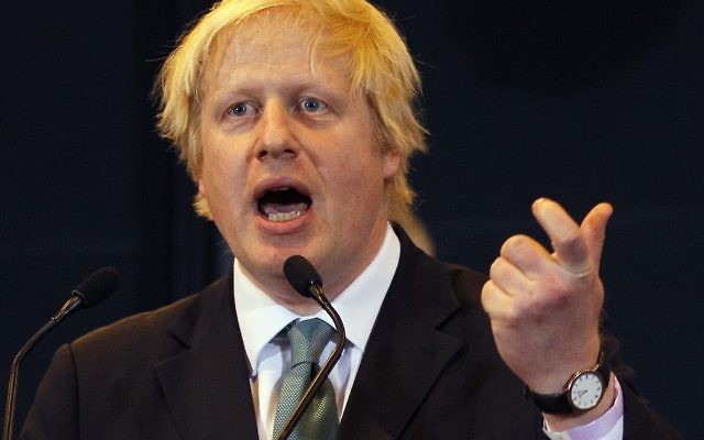 London Mayor Boris Johnson has been on a kibbutz