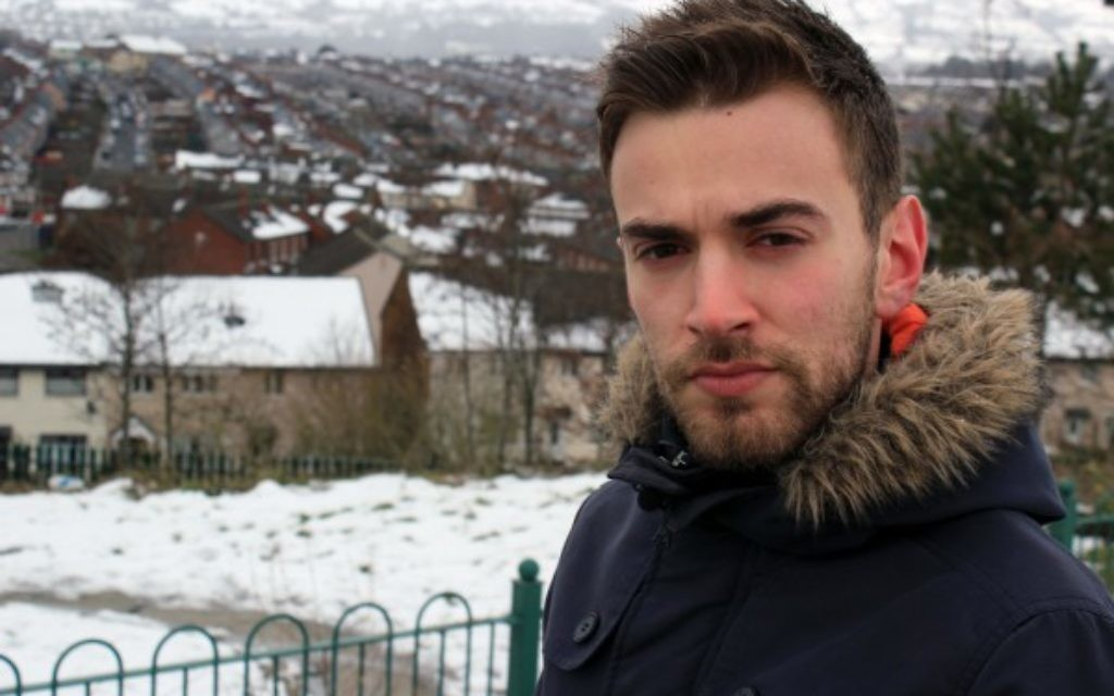 Jonny Benjamin presents the BBC Three show looking at attitudes to mental illness across the NHS