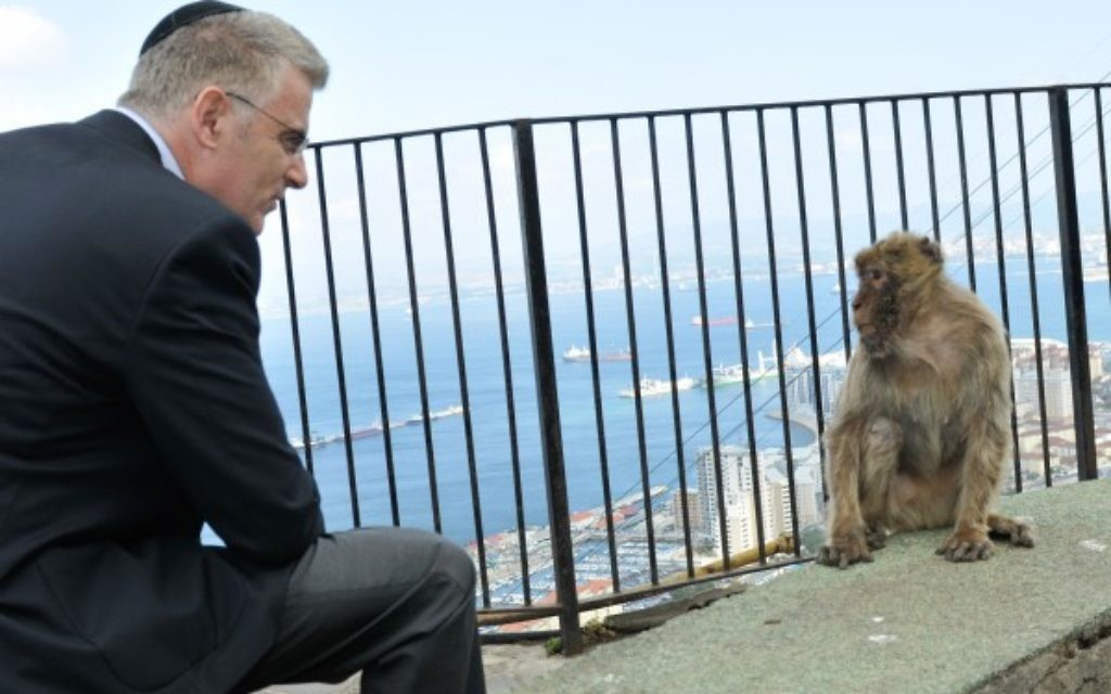 Ambassador Taub in Gibraltar
