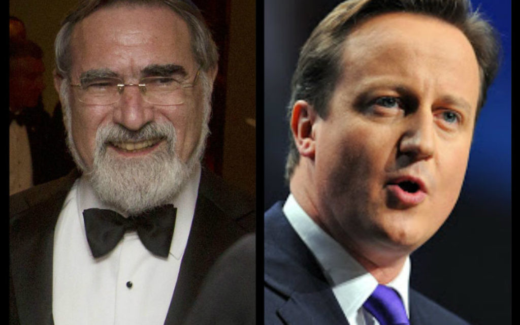 Lord Sacks says the government should do more to recognise marriage in the tax system.