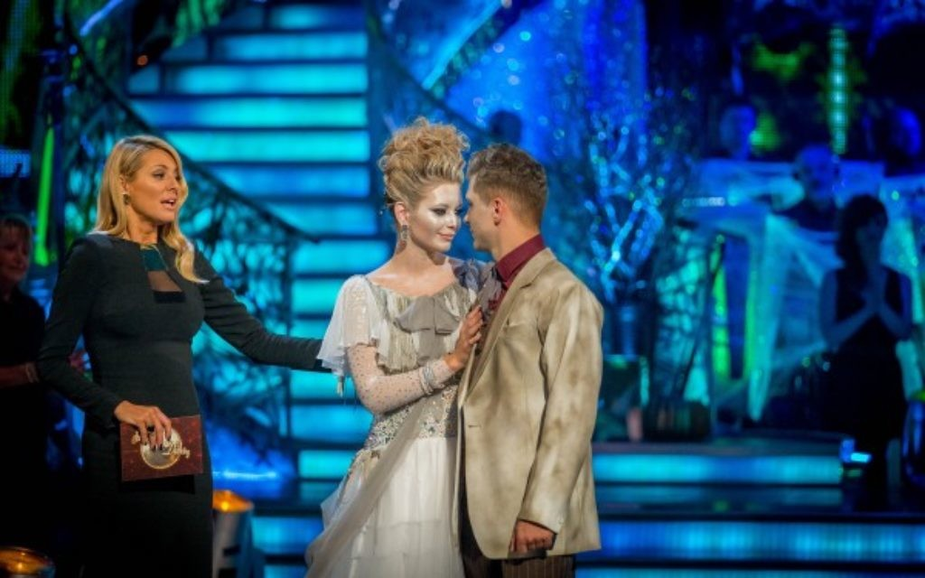 Rachel Riley and Pasha Kovalev are voted off the show.