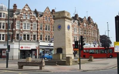 Golders Green War memorial would have been under threat of relocation under the proposals