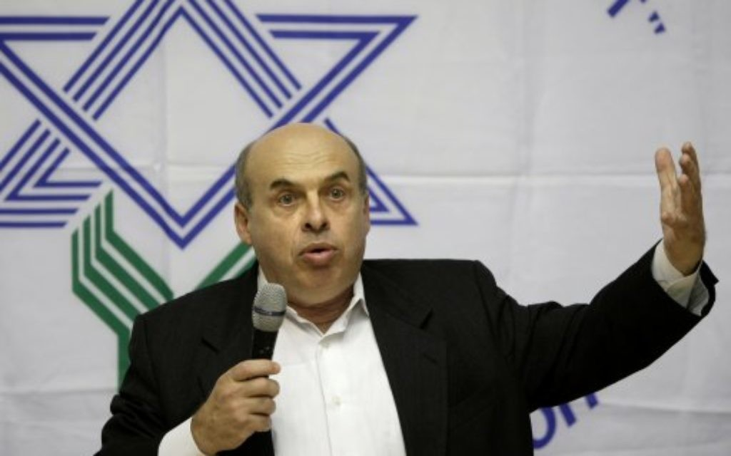 Natan Sharansky, former Soviet dissident and Israeli politician