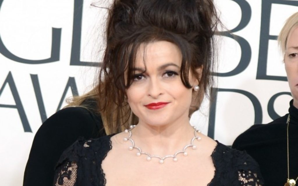 Helena Bonham Carter arrives at the Annual Golden Globe Awards last year.