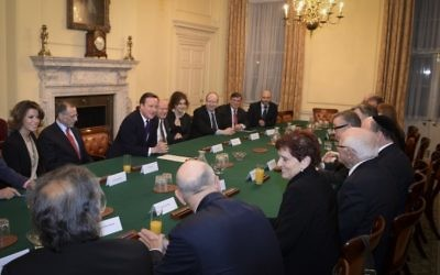 10 Downing Street hosting  guests in preparation for Holocaust Memorial Day in January.