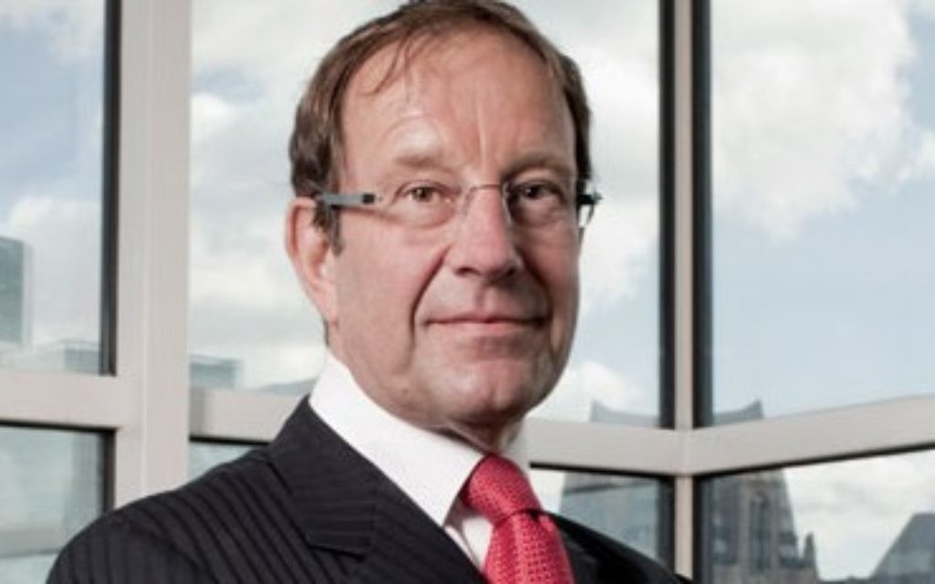 Richard Desmond, who is reportedly considering putting Channel 5 up for sale with a price tag of more than £700 million.
