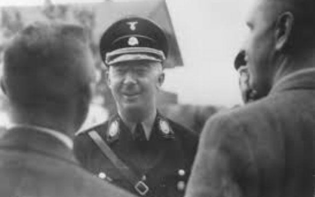 SS Nazi leader Heinrich Himmler.