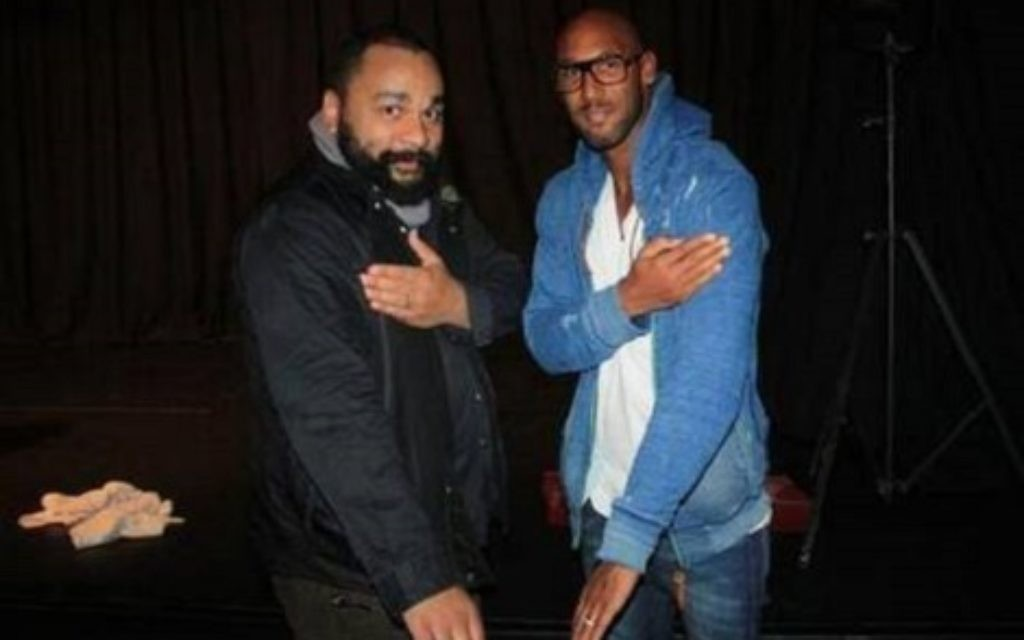 Brothers in arms: Dieudonné and Nicolas Anelka