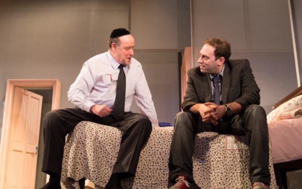 David Horovitch and Ben Caplan (right) in Shiver. CREDIT MANUEL HARLAN