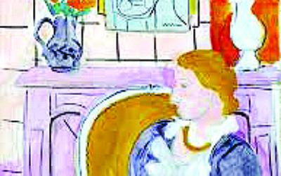 Matisse's Woman in a Blue Dress in Front of a Fireplace is valued at £12m