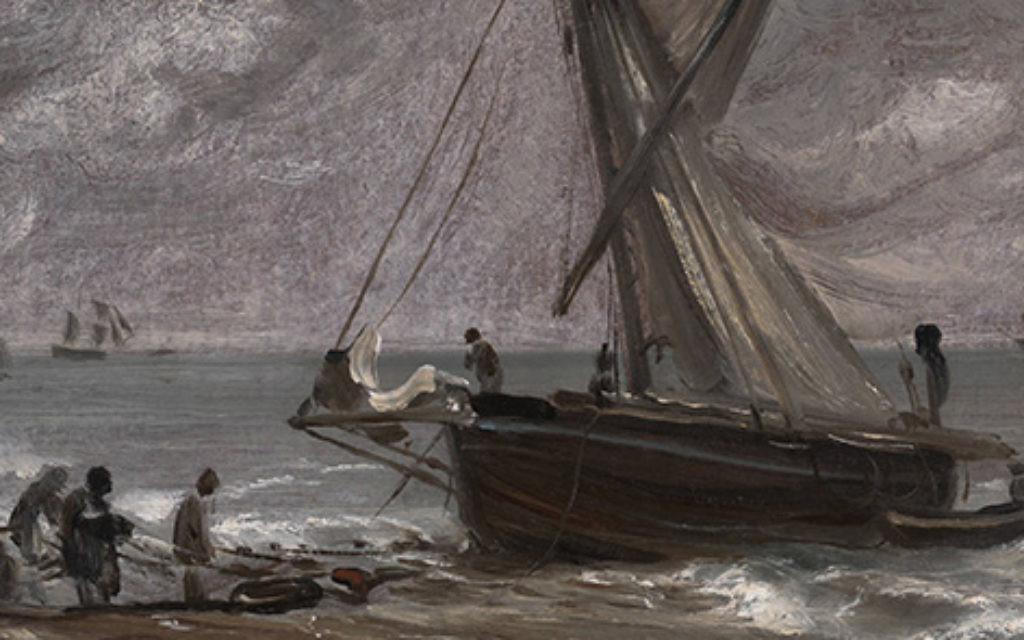 John Constable's painting Beaching a Boat, Brighton (1824) has been returned to its former owner