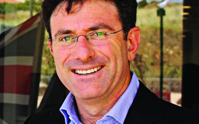 Natie Shevel, UJIA Regional Director in Israel