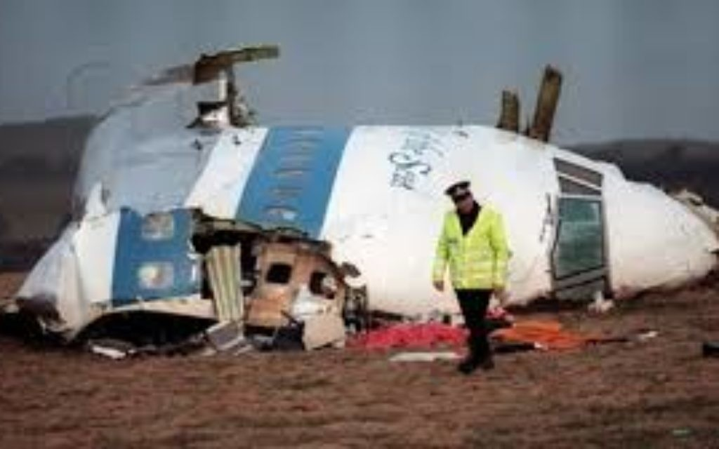 Pan Am flight 103 exploded over Scotland. Some 270 people were killed.