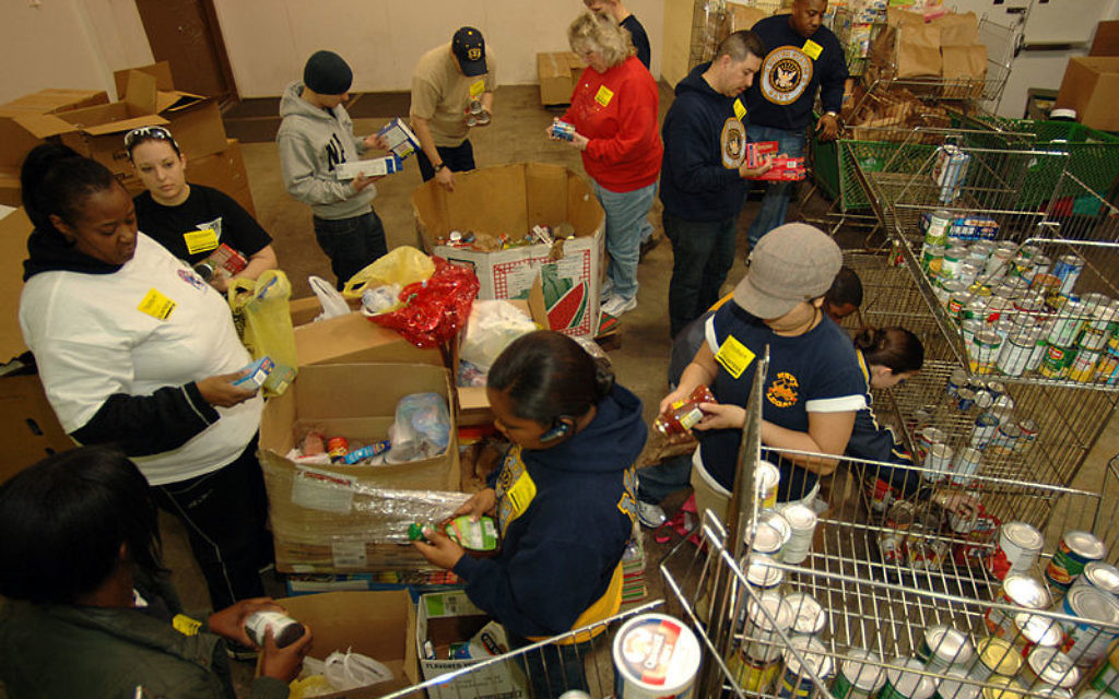 Food banks have been high in demand in the UK