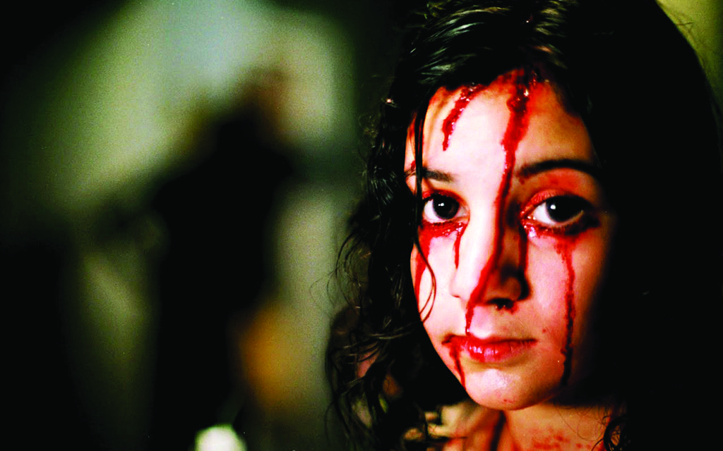 A scene from the film Let the Right One In