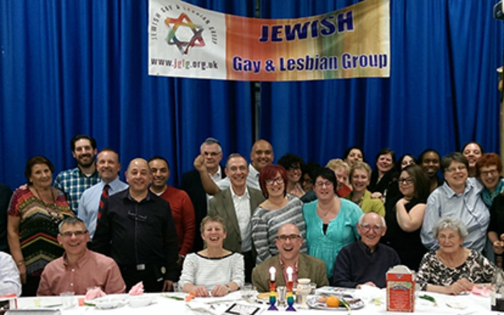 The Jewish Gay and Lesbian Group welcomed 55 LGBT Jews to their annual Second Night Seder