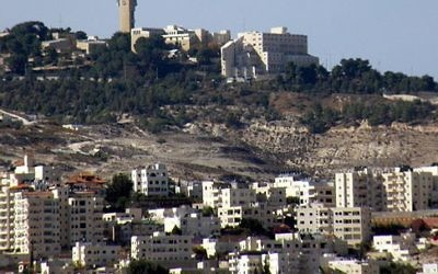 Ma'ale Adumim settlement in the occupied West Bank