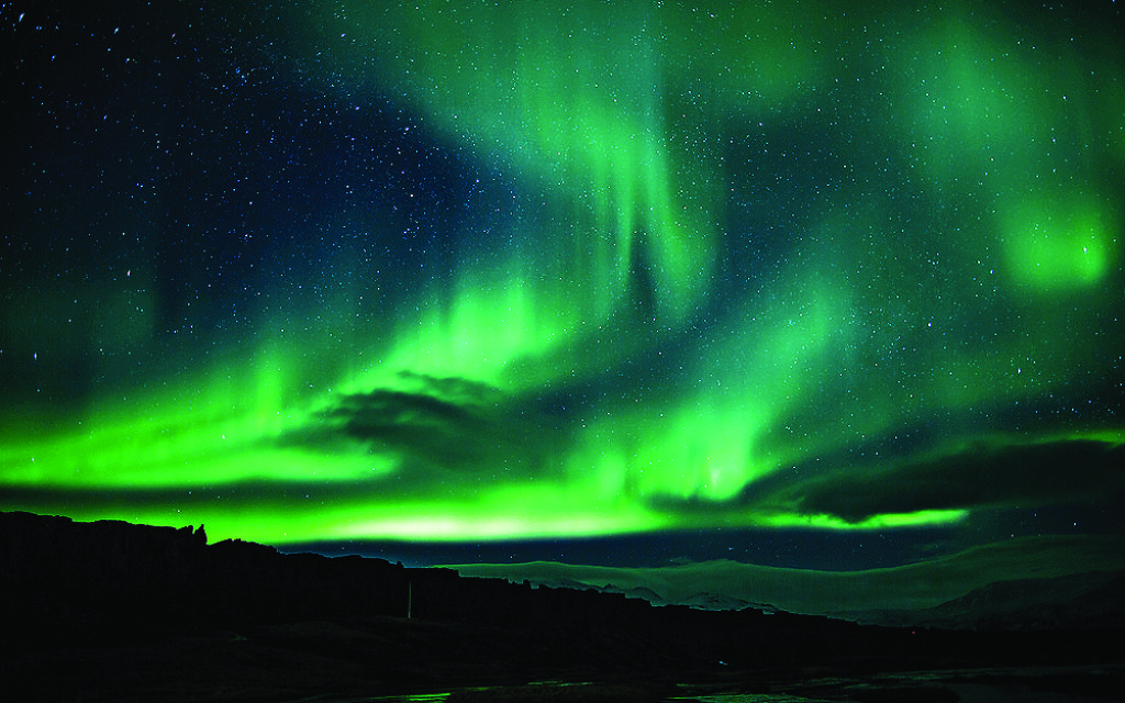 A view of the Northern Lights