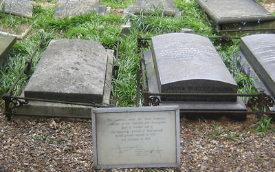 The Novo cemetery in Mile End is one of only two Jewish cemeteries in England exclusively devoted to the Sephardic branch of Jewry