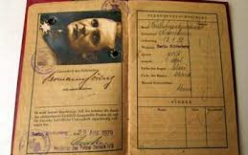 The passport of Hermann Goering.