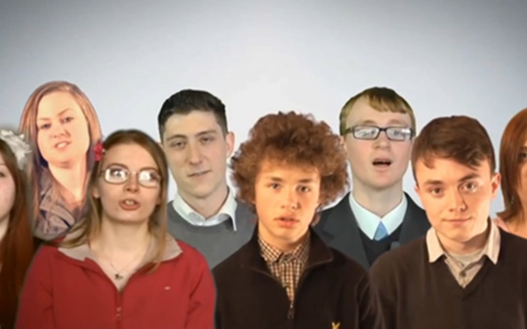 BNP youth in the campaign video
