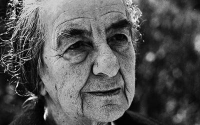 Gemma Levine's portrait of former Israeli Prime Minister