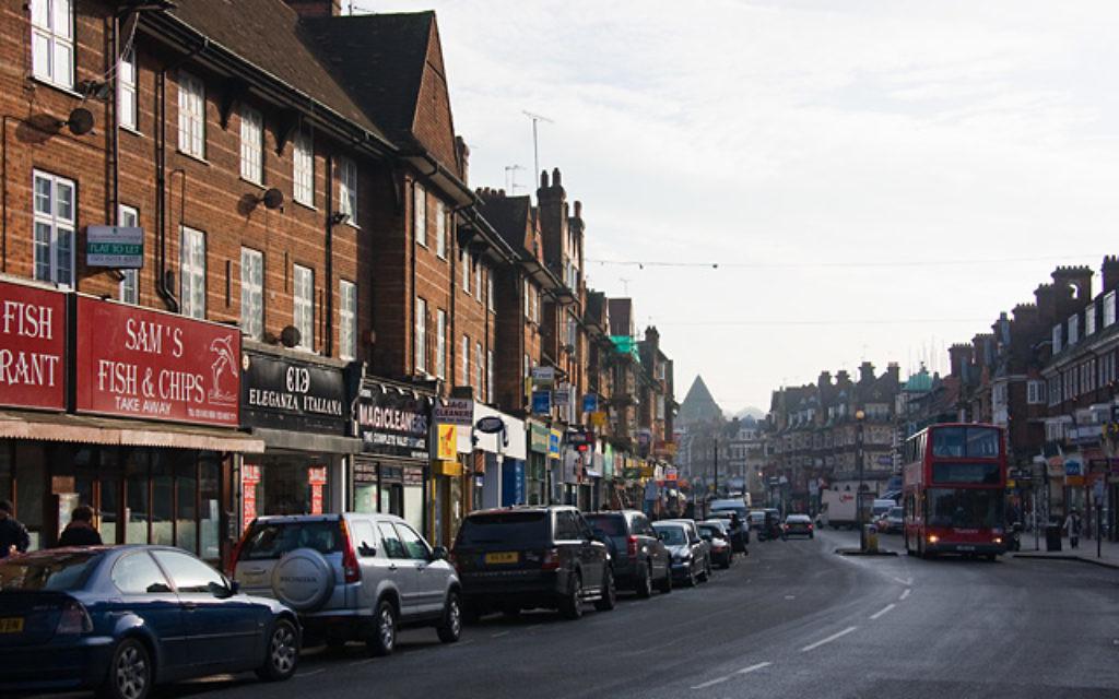 Golders Green Road has a number of popular kosher restaurants