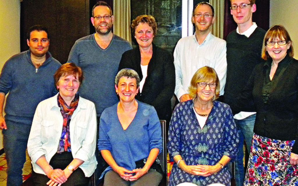 The Board of Deputies meet with Methodist Church members