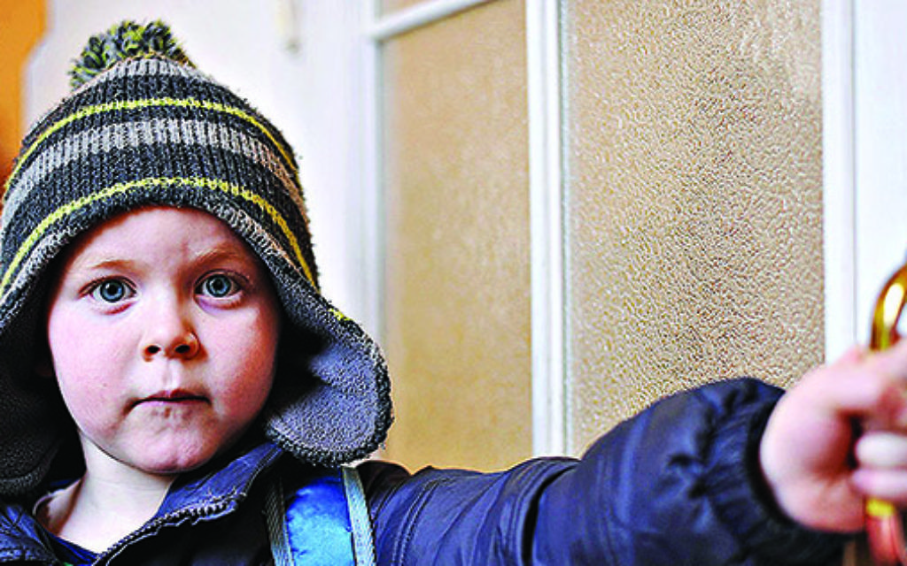 Alec Gohman, aged 3