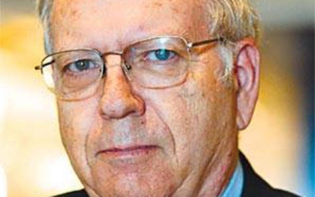 Former head of Mossad Ephraim Halevy