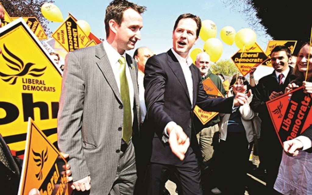 John Leech MP (pictured with Nick Clegg)