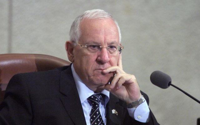 President Rivlin