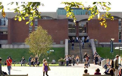 The University of Sussex campus