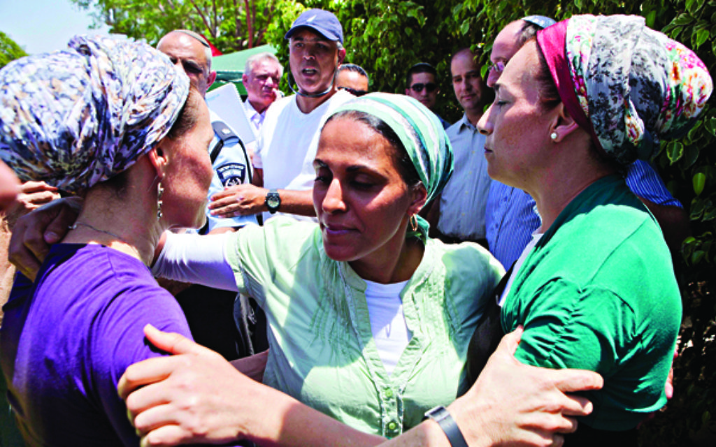 The mothers of the three murdered Israeli teenagers.