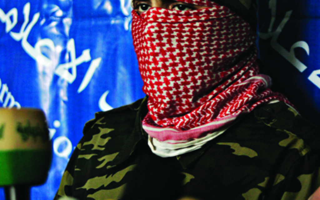 Abu Obeida, a spokesman for Hamas' armed wing, the Qassam Brigades.